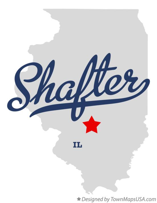 Map of Shafter Illinois IL