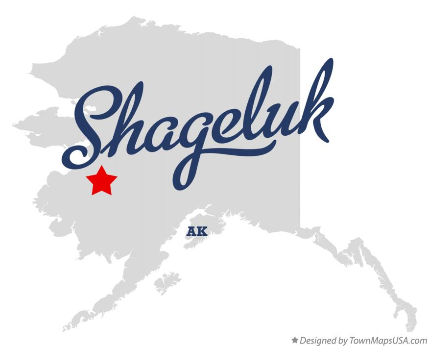 Map of Shageluk Alaska AK