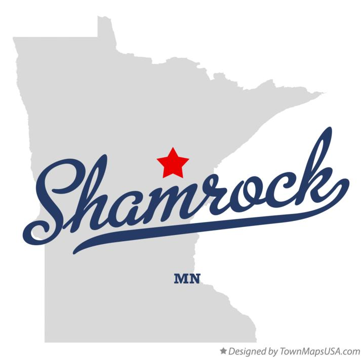 Map of Shamrock Minnesota MN