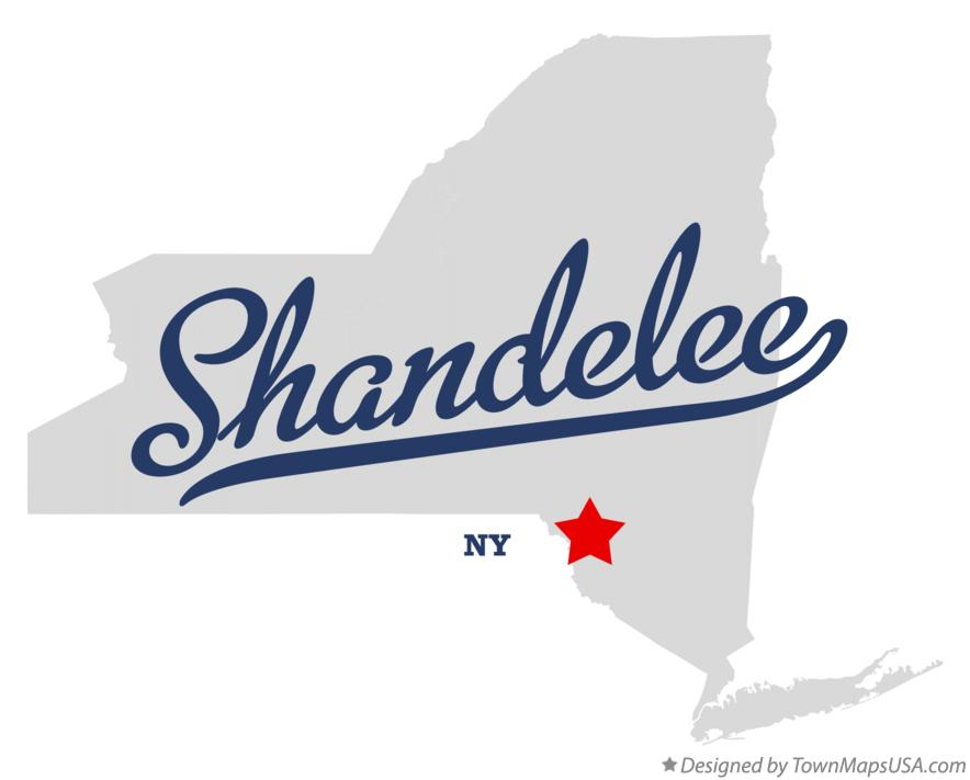 Map of Shandelee New York NY