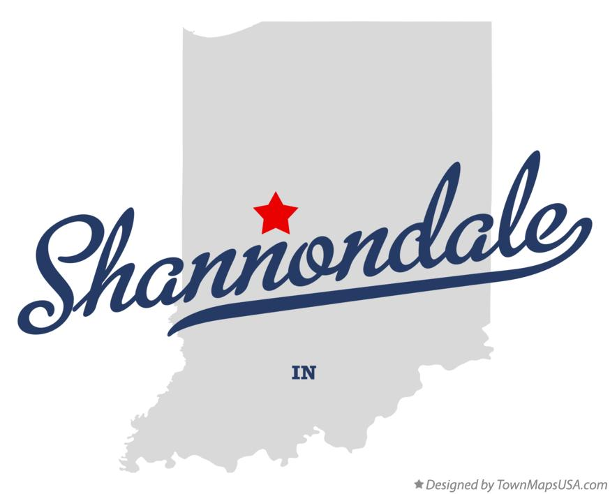 Map of Shannondale Indiana IN