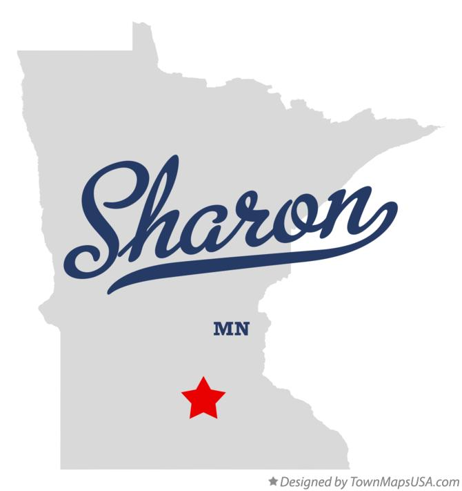 Map of Sharon Minnesota MN