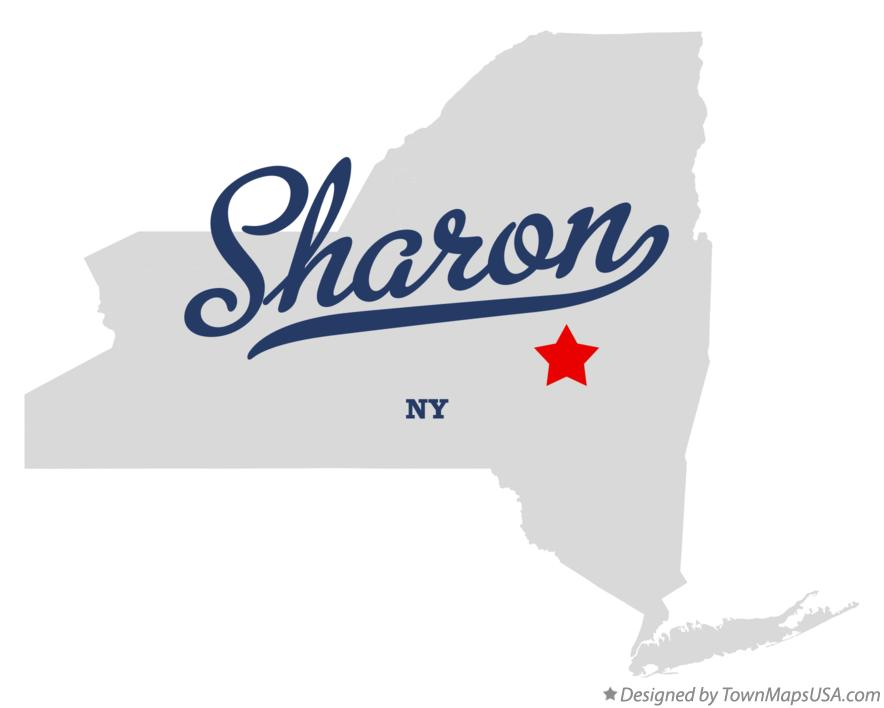 Map of Sharon New York NY