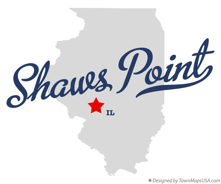 Map of Shaws Point Illinois IL