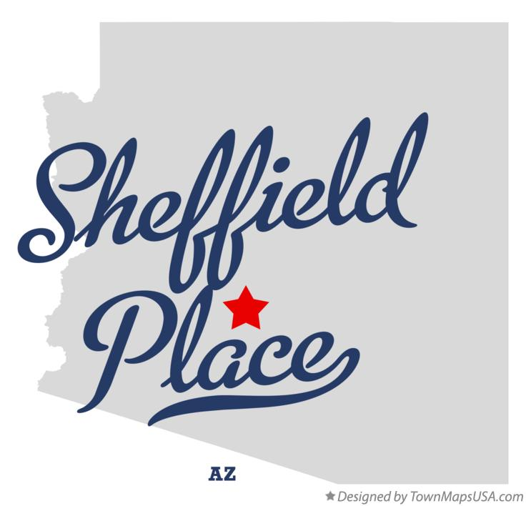 Map of Sheffield Place Arizona AZ