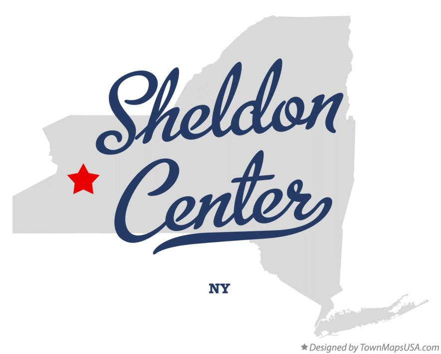 Map of Sheldon Center New York NY