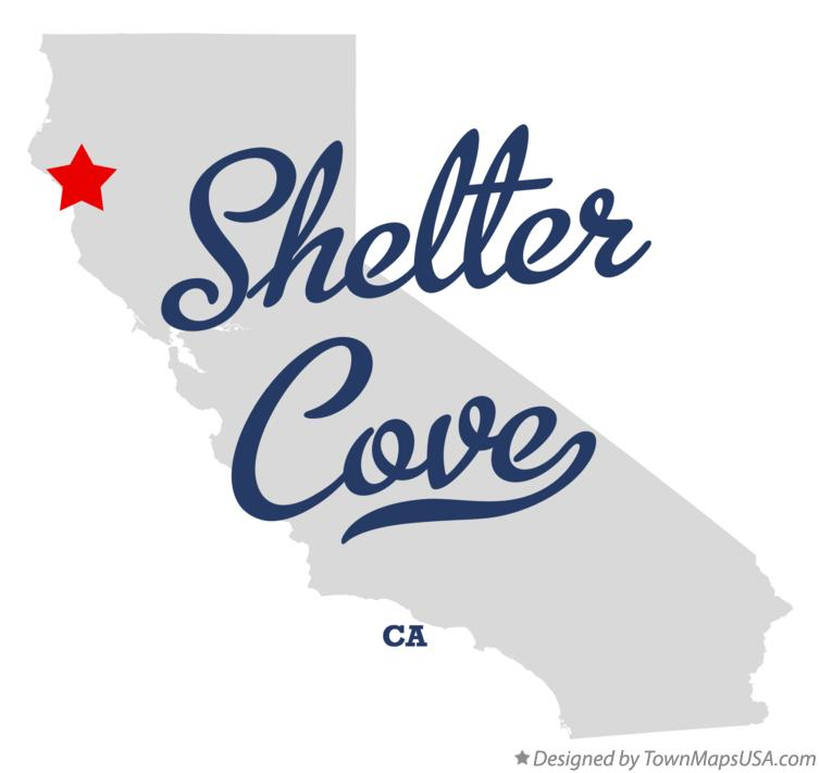 Map of Shelter Cove California CA