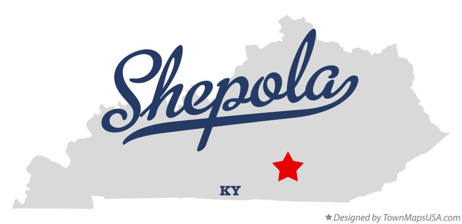 Map of Shepola Kentucky KY
