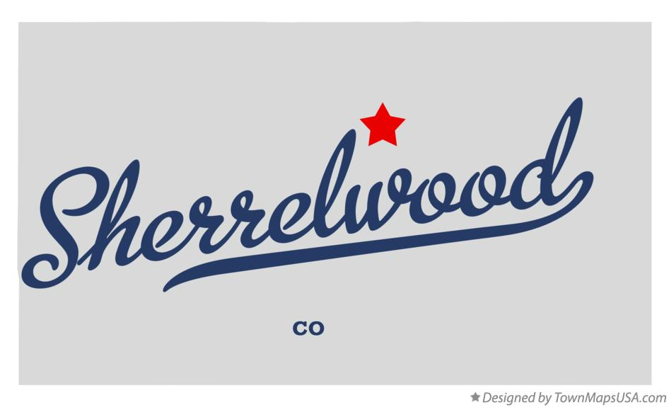 Map of Sherrelwood Colorado CO