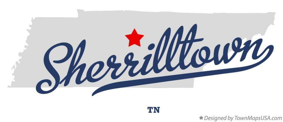 Map of Sherrilltown Tennessee TN
