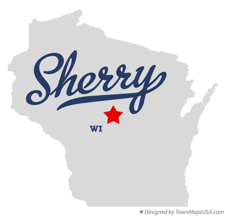 Map of Sherry Wisconsin WI