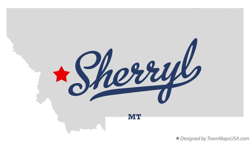 Map of Sherryl Montana MT