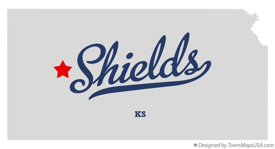 Map of Shields Kansas KS