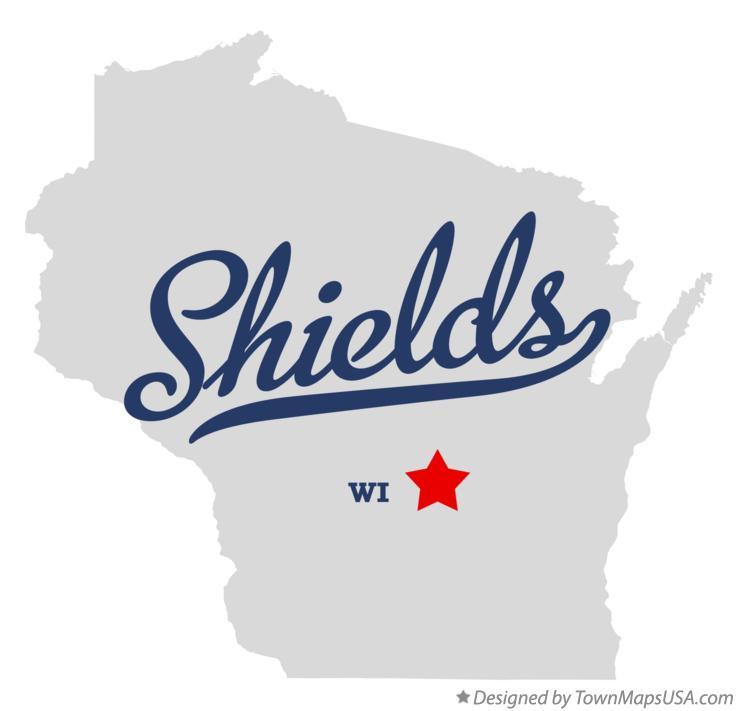 Map of Shields Wisconsin WI