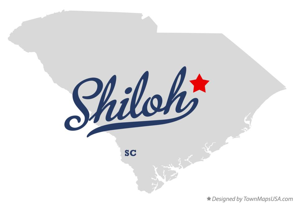 Map of Shiloh South Carolina SC