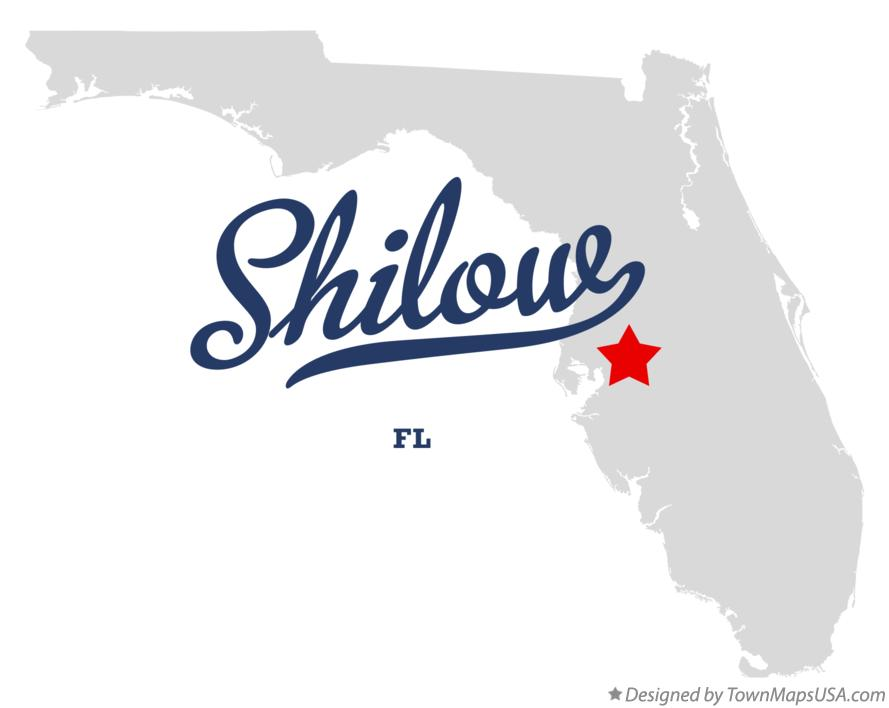 Map of Shilow Florida FL