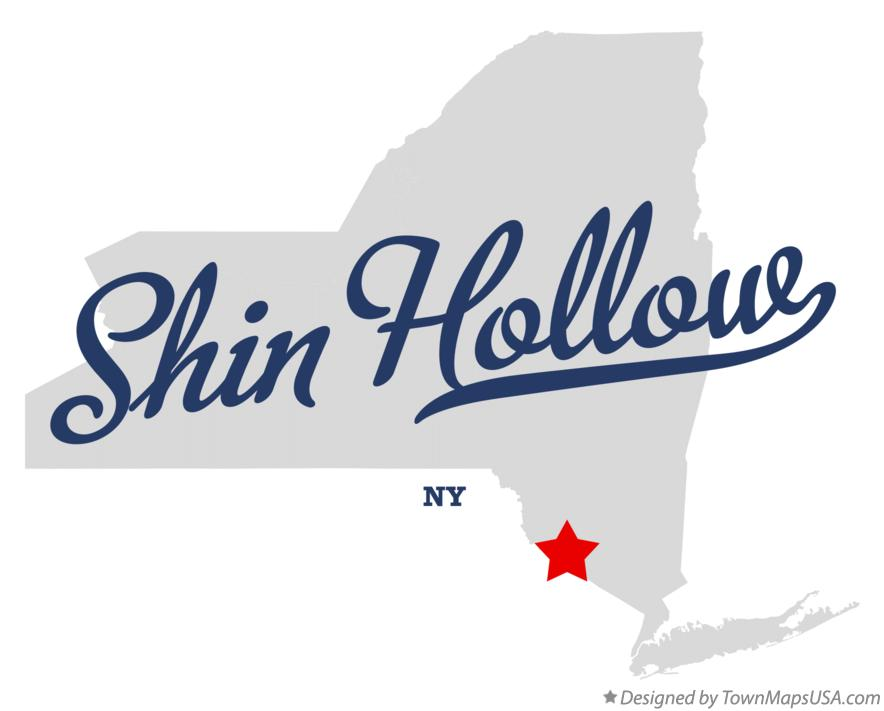 Map of Shin Hollow New York NY