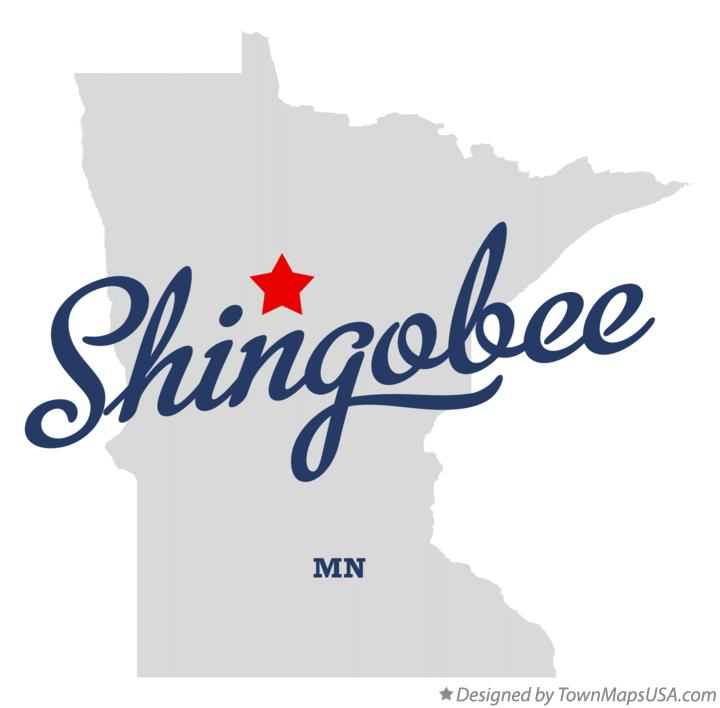 Map of Shingobee Minnesota MN