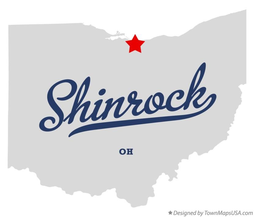 Map of Shinrock Ohio OH