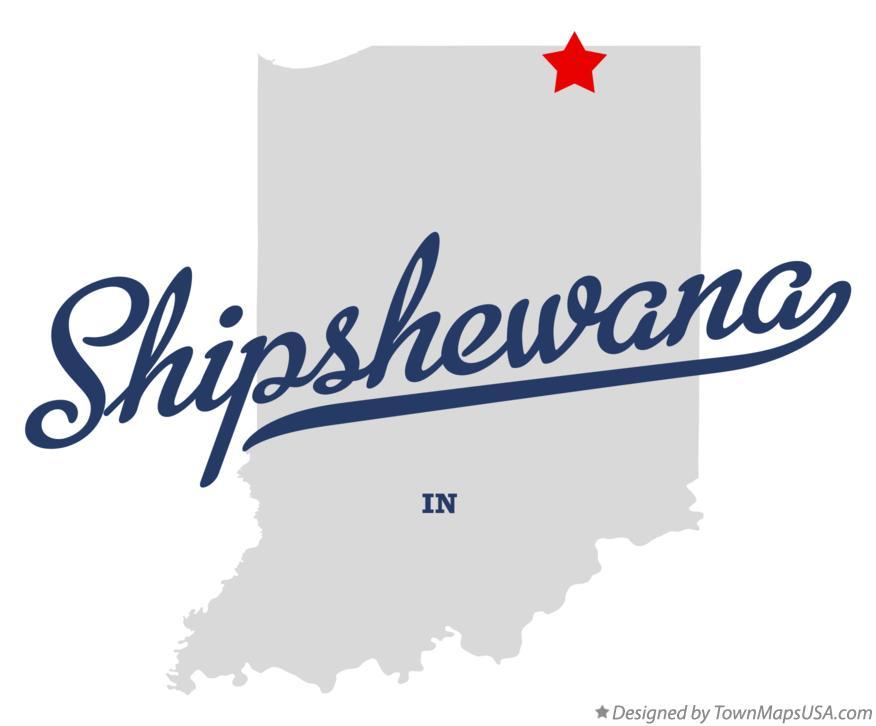 Map Of Shipshewana In Indiana