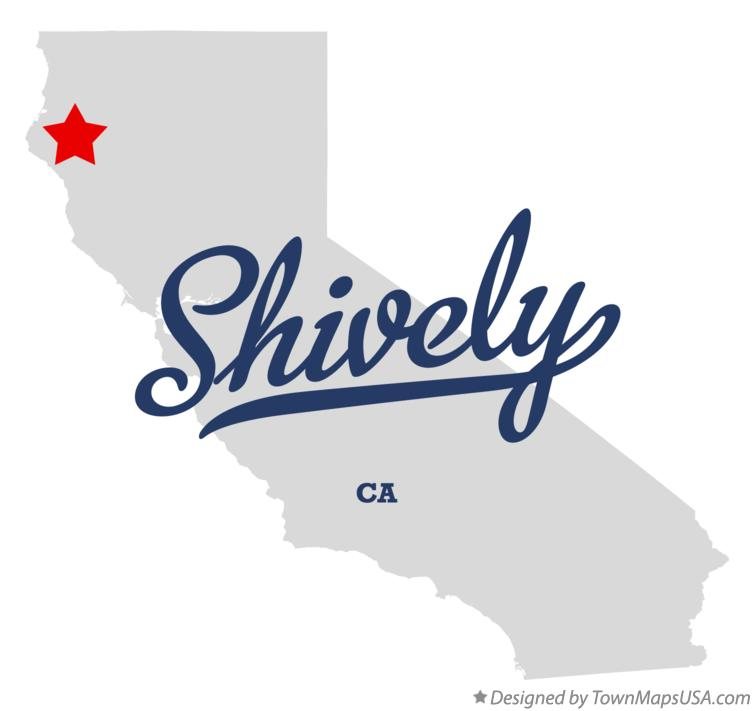 Map of Shively California CA