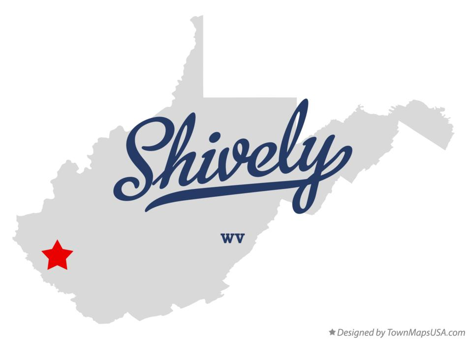 Map of Shively West Virginia WV