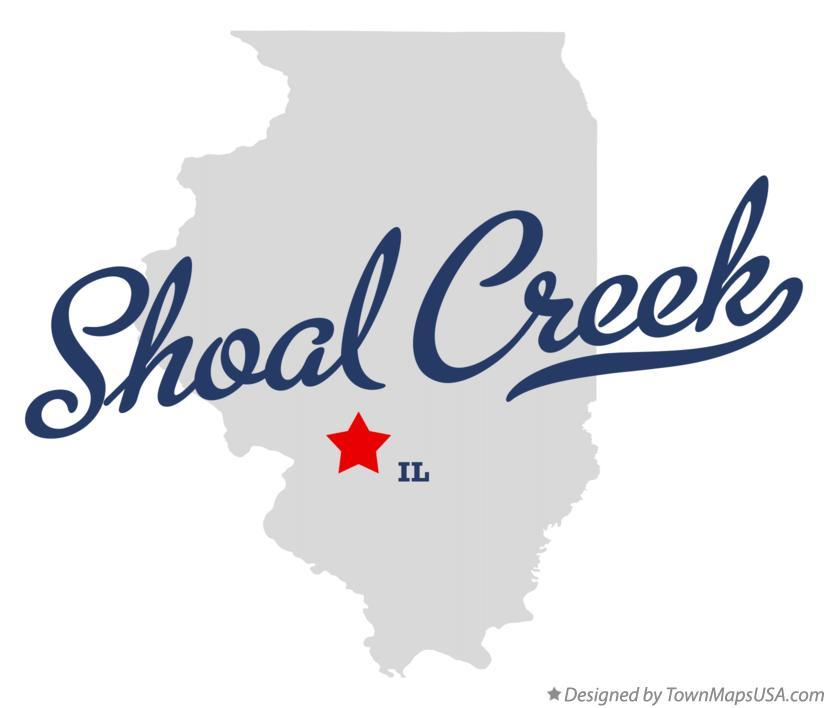 Map of Shoal Creek Illinois IL