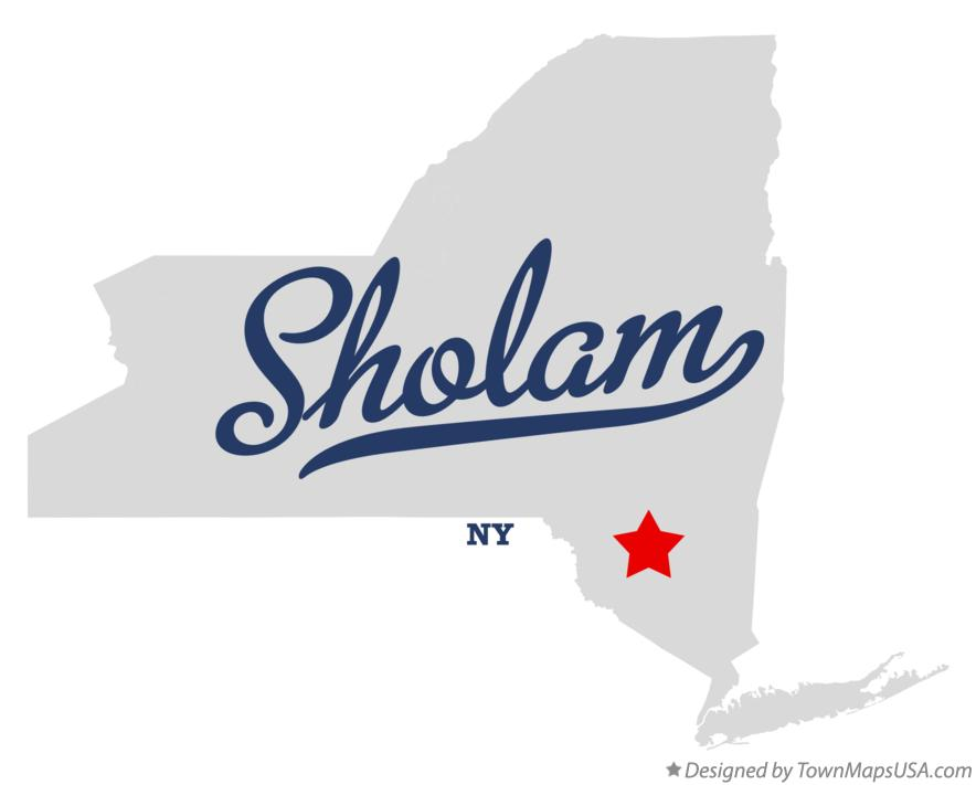 Map of Sholam New York NY