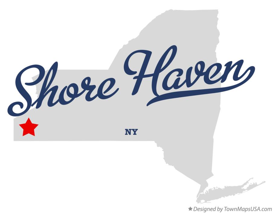 Map of Shore Haven New York NY