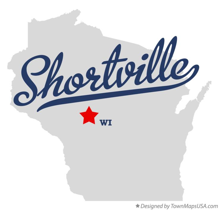 Map of Shortville Wisconsin WI