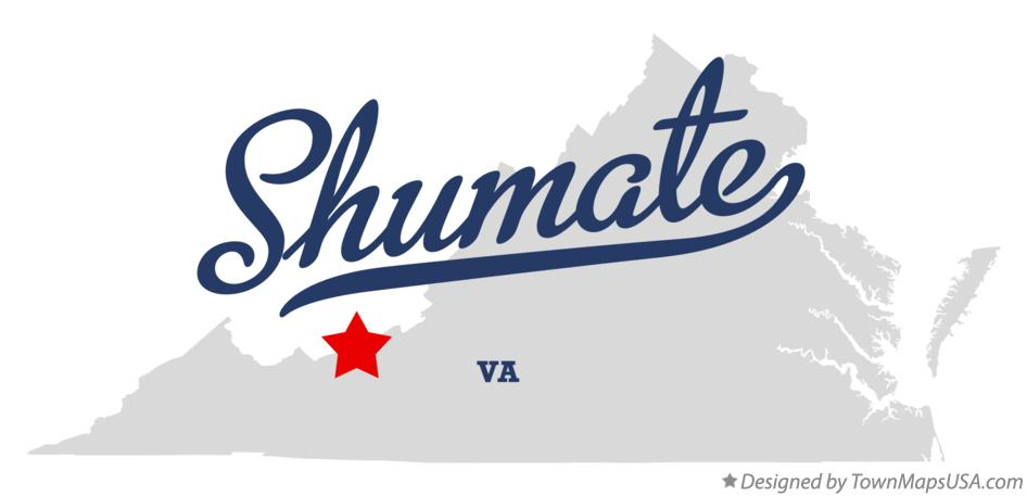 Map of Shumate Virginia VA