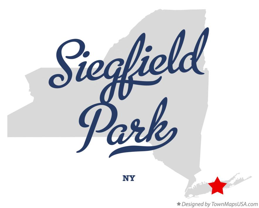 Map of Siegfield Park New York NY