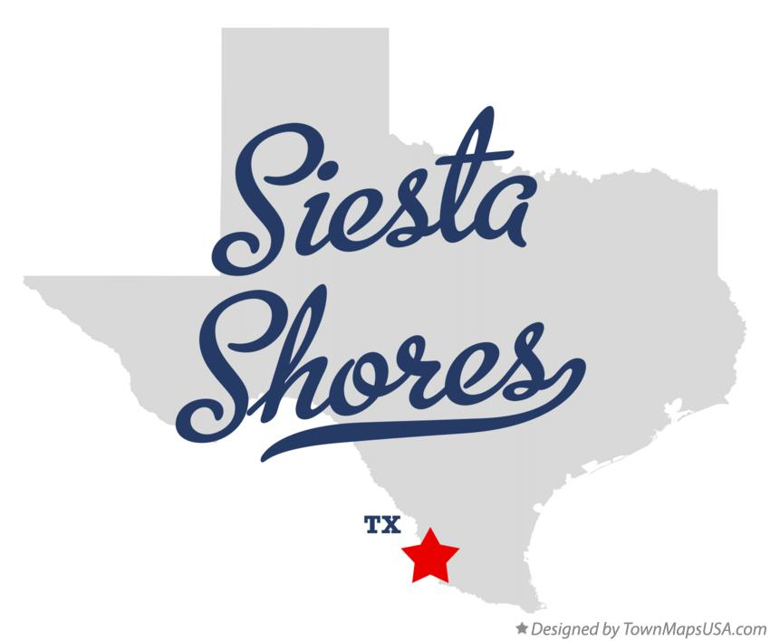 Map of Siesta Shores Texas TX