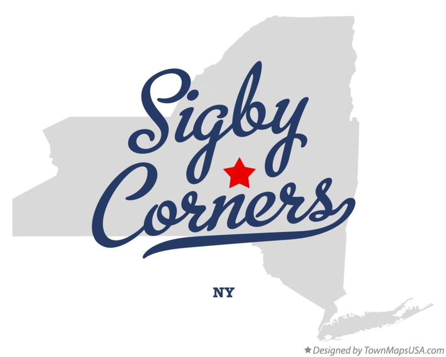 Map of Sigby Corners New York NY