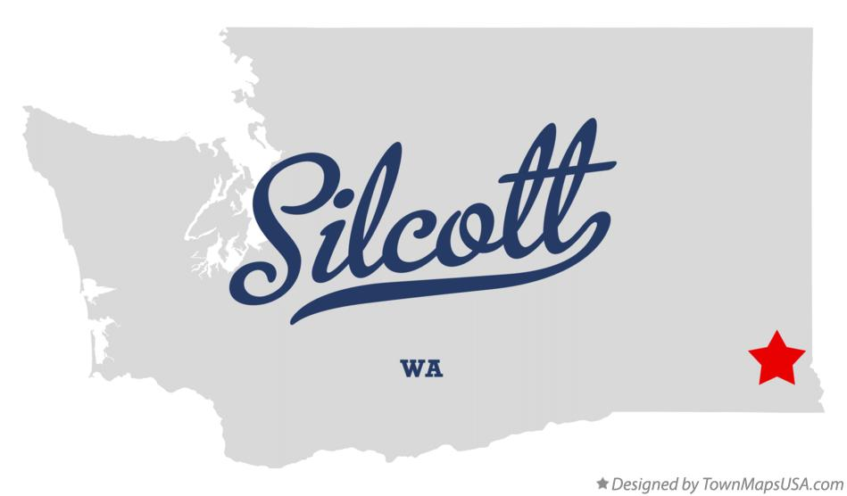 Map of Silcott Washington WA