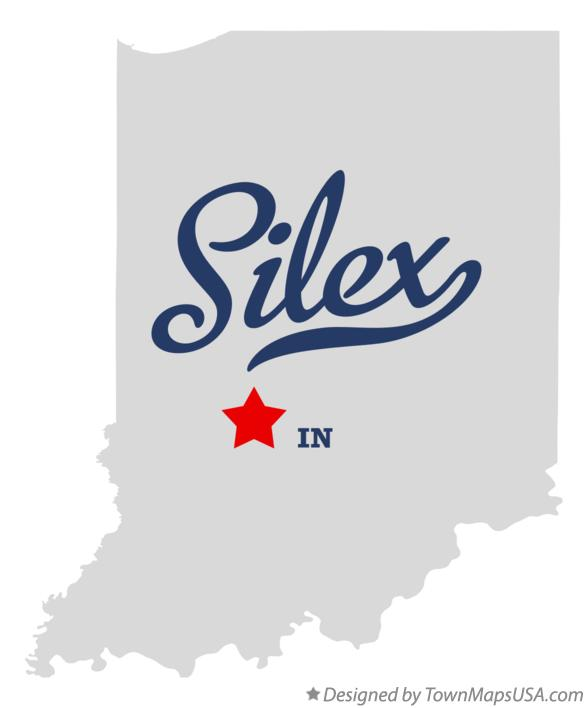 Map of Silex Indiana IN