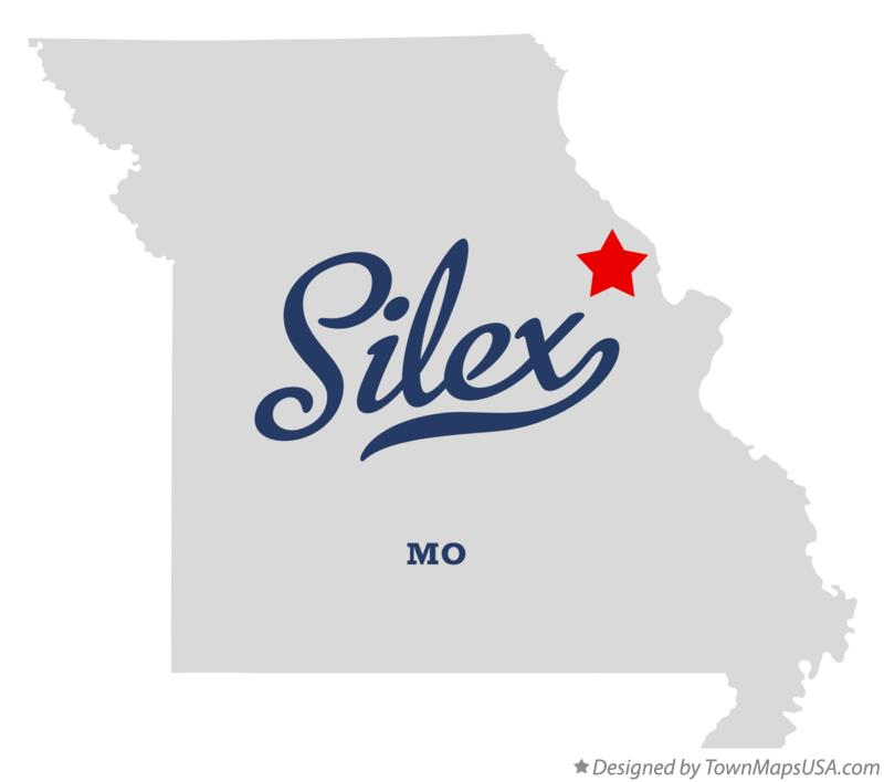Map of Silex Missouri MO