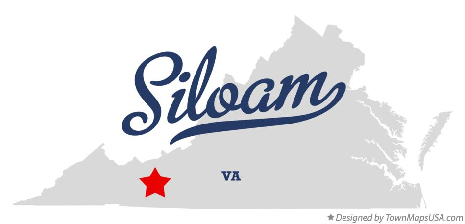 Map of Siloam Virginia VA