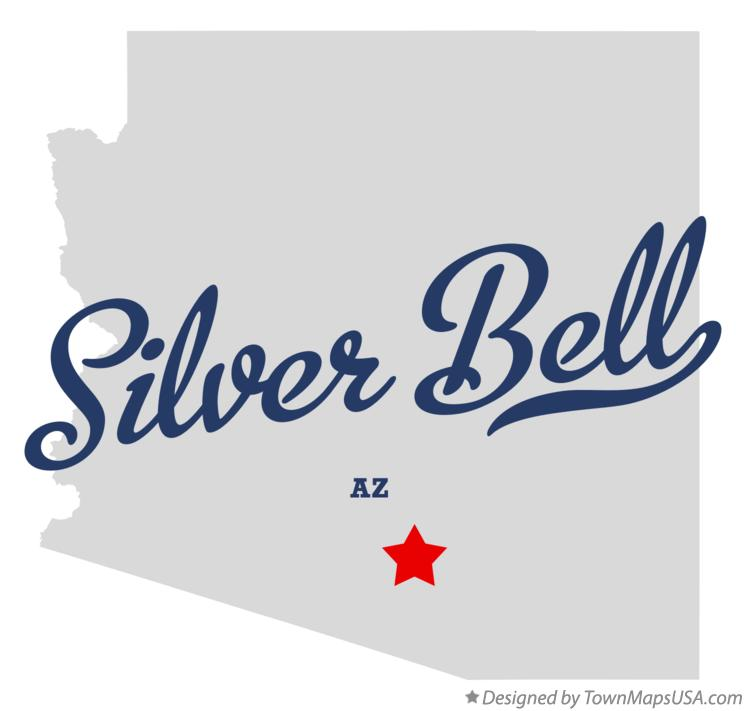 Map of Silver Bell Arizona AZ