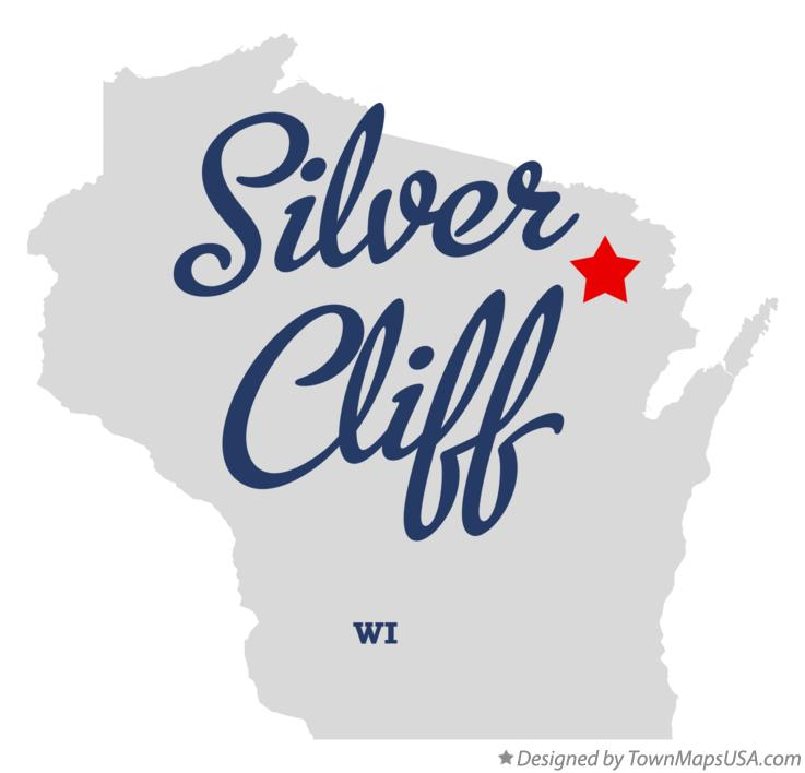 Map of Silver Cliff Wisconsin WI