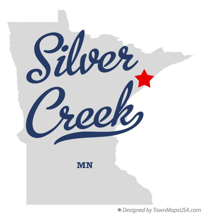 Map of Silver Creek Minnesota MN