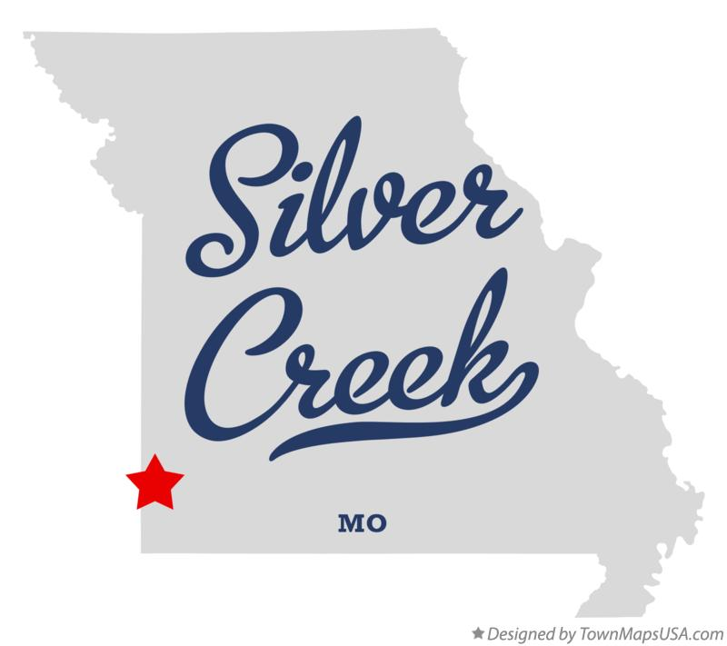 Map of Silver Creek Missouri MO