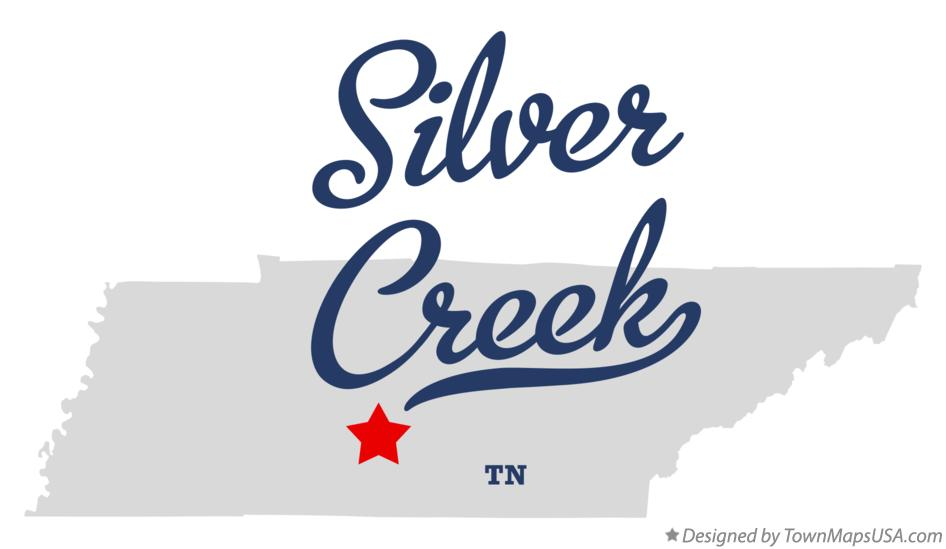 Map of Silver Creek Tennessee TN
