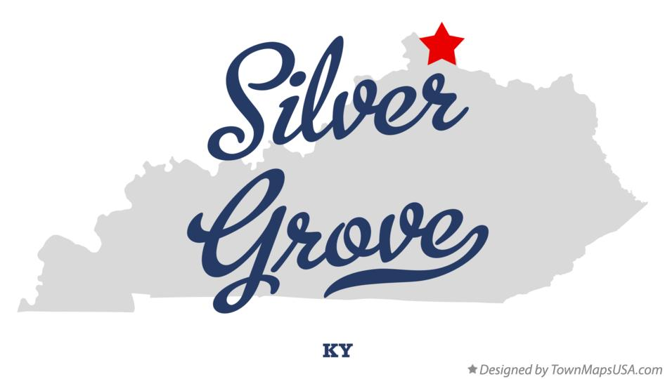 Map of Silver Grove Kentucky KY