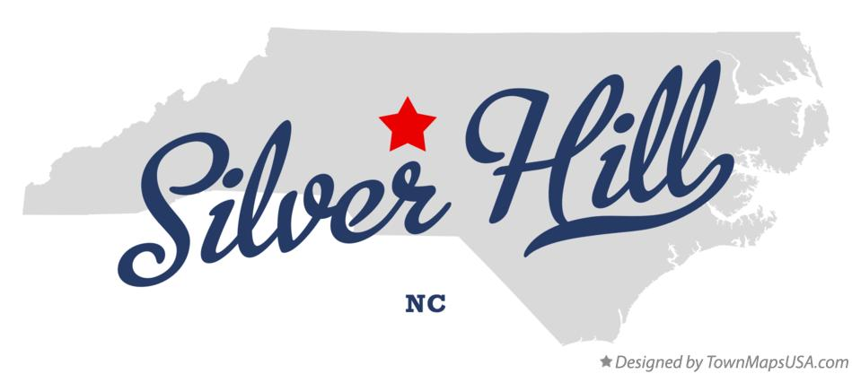 Map of Silver Hill North Carolina NC