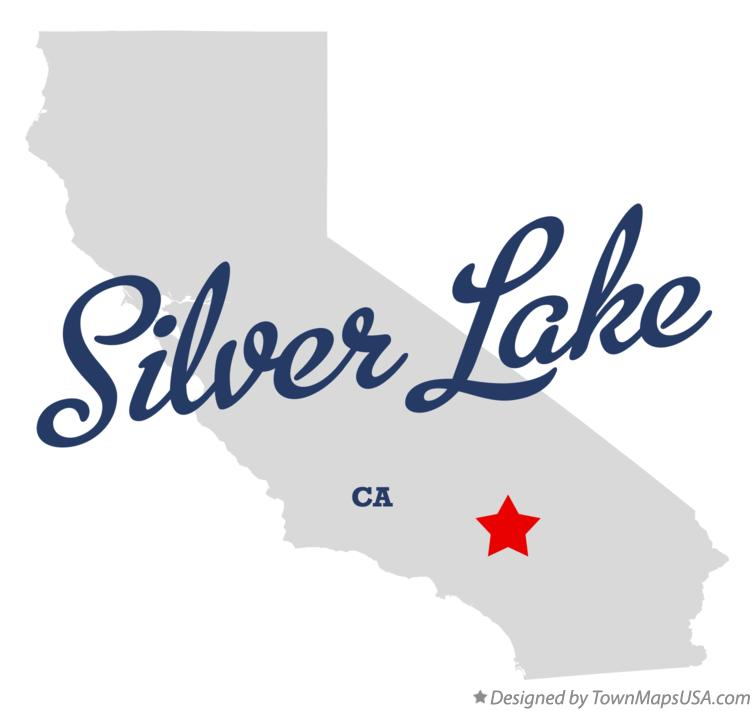 Map of Silver Lake California CA