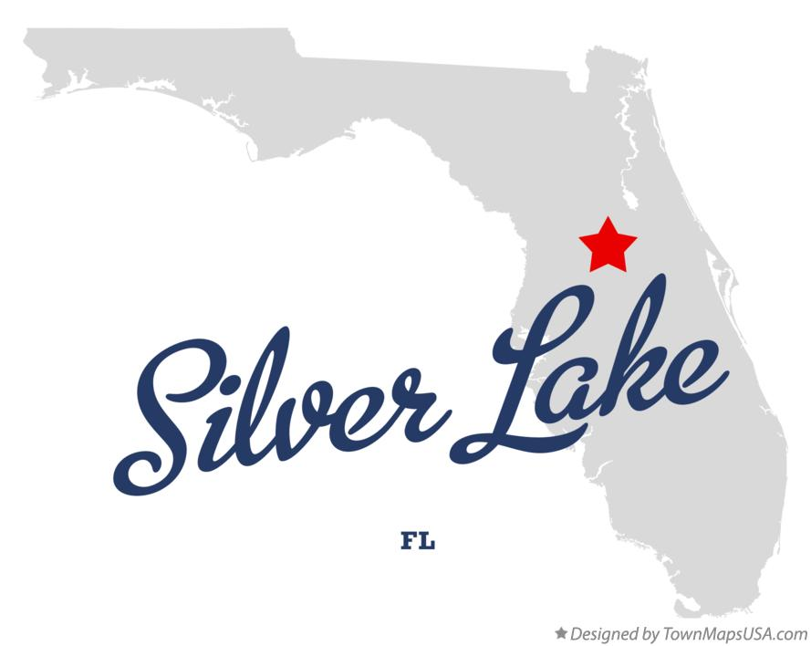 Map of Silver Lake Florida FL