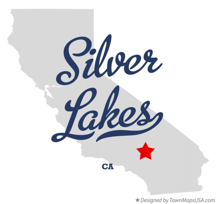 Map of Silver Lakes California CA