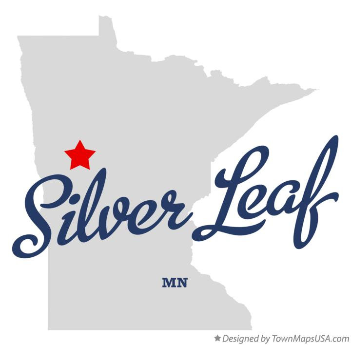 Map of Silver Leaf Minnesota MN
