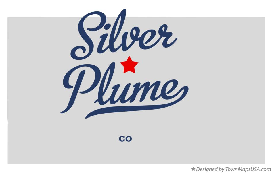 Map of Silver Plume Colorado CO